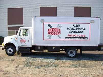 Picture semi truck repair service charlotte nc 24 hour emergency roadside